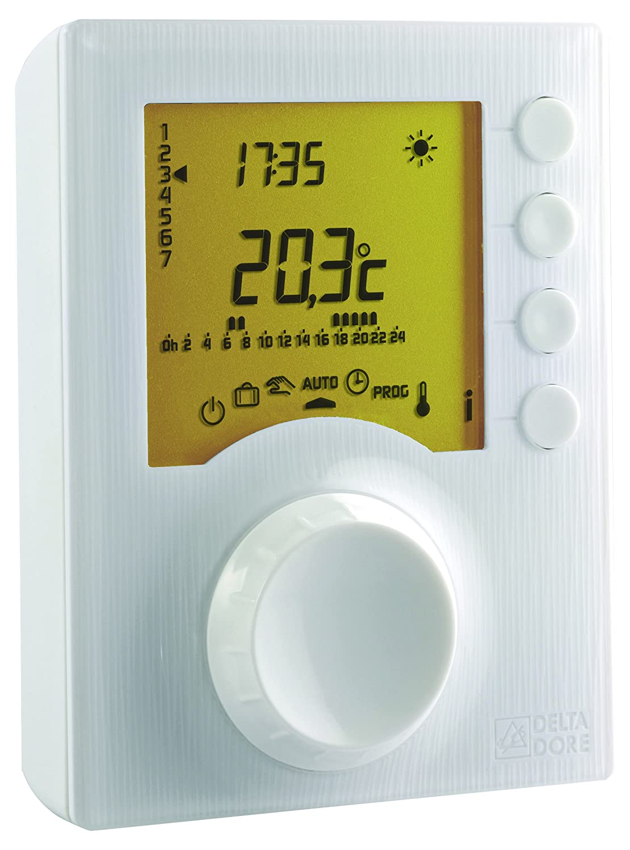 Delta Dore 6053006/TYBOX 127/ /Termostato programable con 2/niveles de consigne