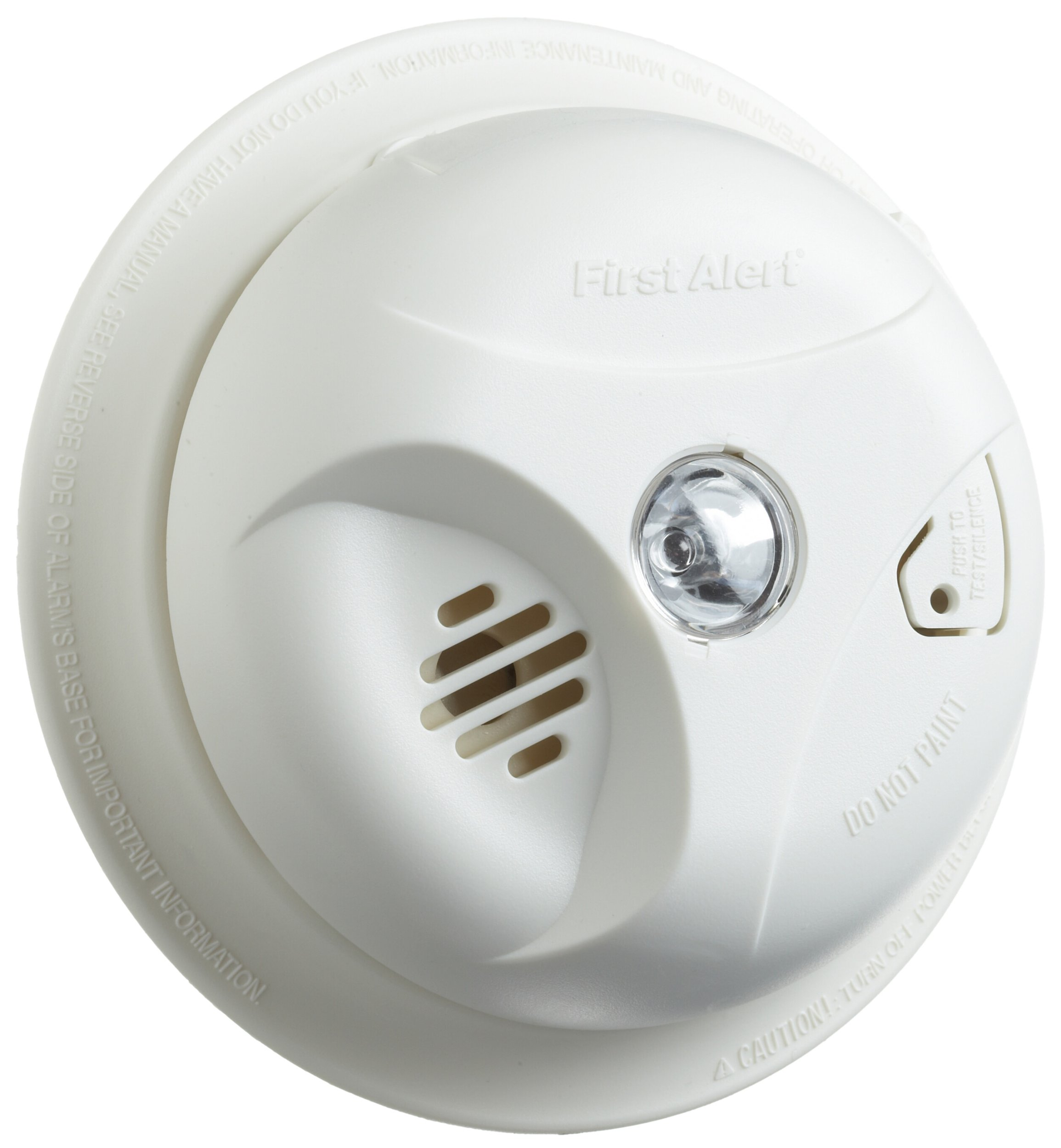 First Alert SA304LCN Smoke Alarm with Escape Light and Long Life Lithium Battery