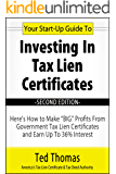 Your Start-Up Guide To Investing In Tax Lien Certificates