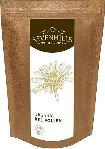 Sevenhills Wholefoods Organic Raw Bee Pollen (Spanish) 500g
