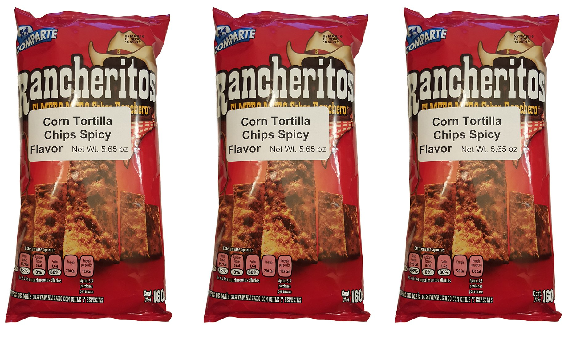 Sabritas Mexican Chips Large Bag (3-pack) (Botanas Mexicanas Bolsa Grande)