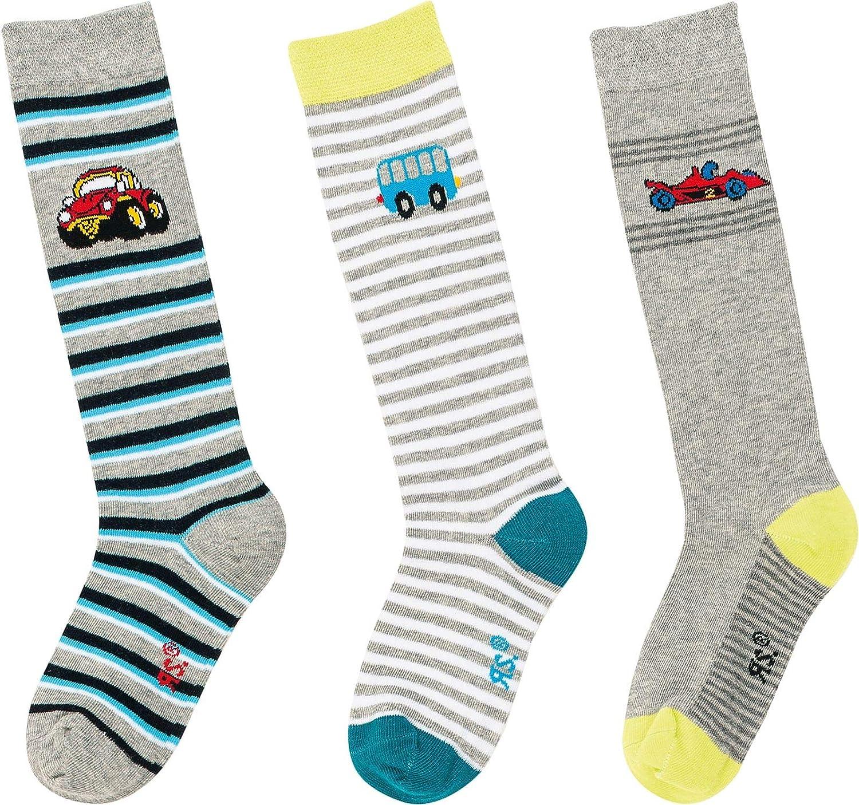 socksPur Cars Calcetines para ni/ña 3 unidades