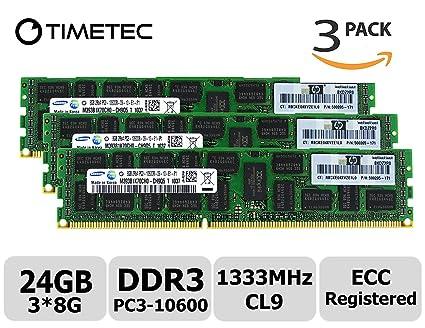 Amazon in: Buy Timetec Samsung 24GB Kit (3x8GB) DDR3 1333MHz PC3