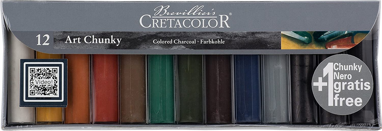 Cretacolor Chunky Charcoal Sticks and Sets