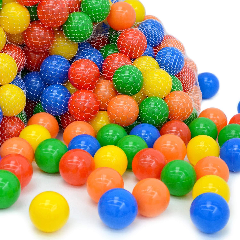 precios bajos todos los dias 200 LittleTom 10000 10000 10000 Bolas de Colors Ø 6cm Extra Durable para Piscina bebé guardería  tiendas minoristas