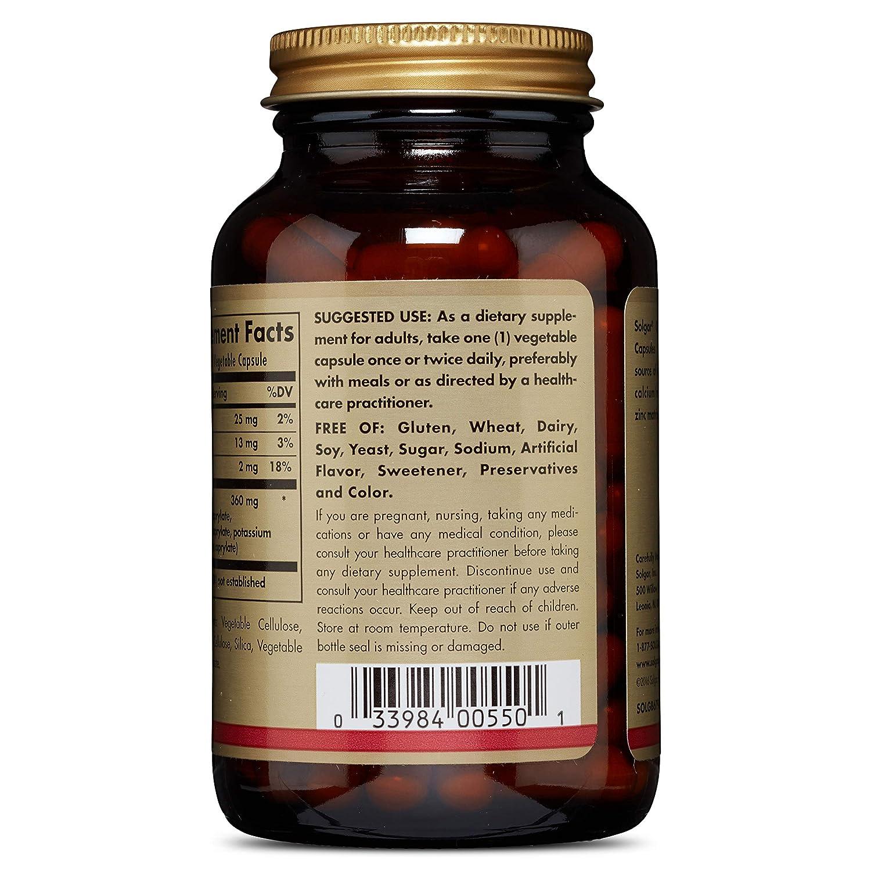Amazon.com: Solgar – caprylic Acid, 100 Vegetable Capsules ...