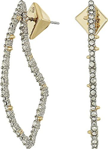 Alexis Bittar Crystal Abstract Thorn Earrings DAlegm