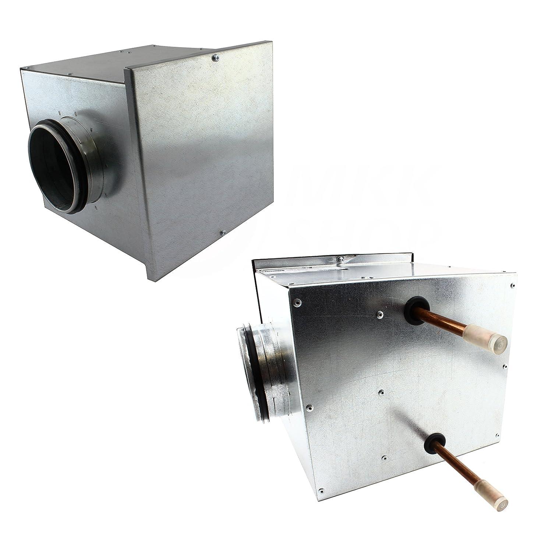 Calefacció n registro hasta 66 kW calentador de aire intercambiador de calor calentador Agua de aire MKK