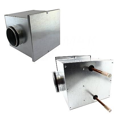 Calefacción registro hasta 66 kW calentador de aire intercambiador de calor calentador Agua de aire