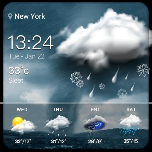 Temperatura de amanhã