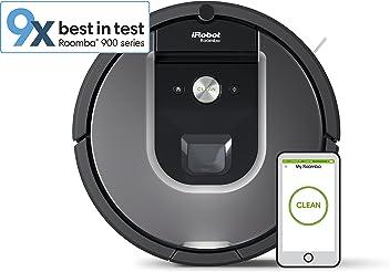 iRobot Roomba 960 Vacuum Cleaner, Robotic, Silver