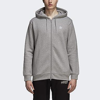 Adidas Originals Trefoil Sweat à capuche en polaire pour homme