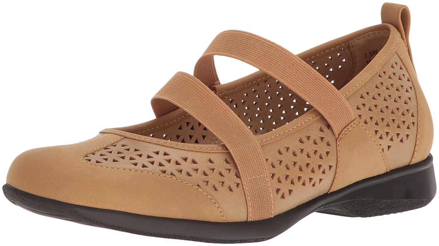 Trotters Women's Josie Mary Jane Flat B073C51QCK 10 B(M) US|Tan
