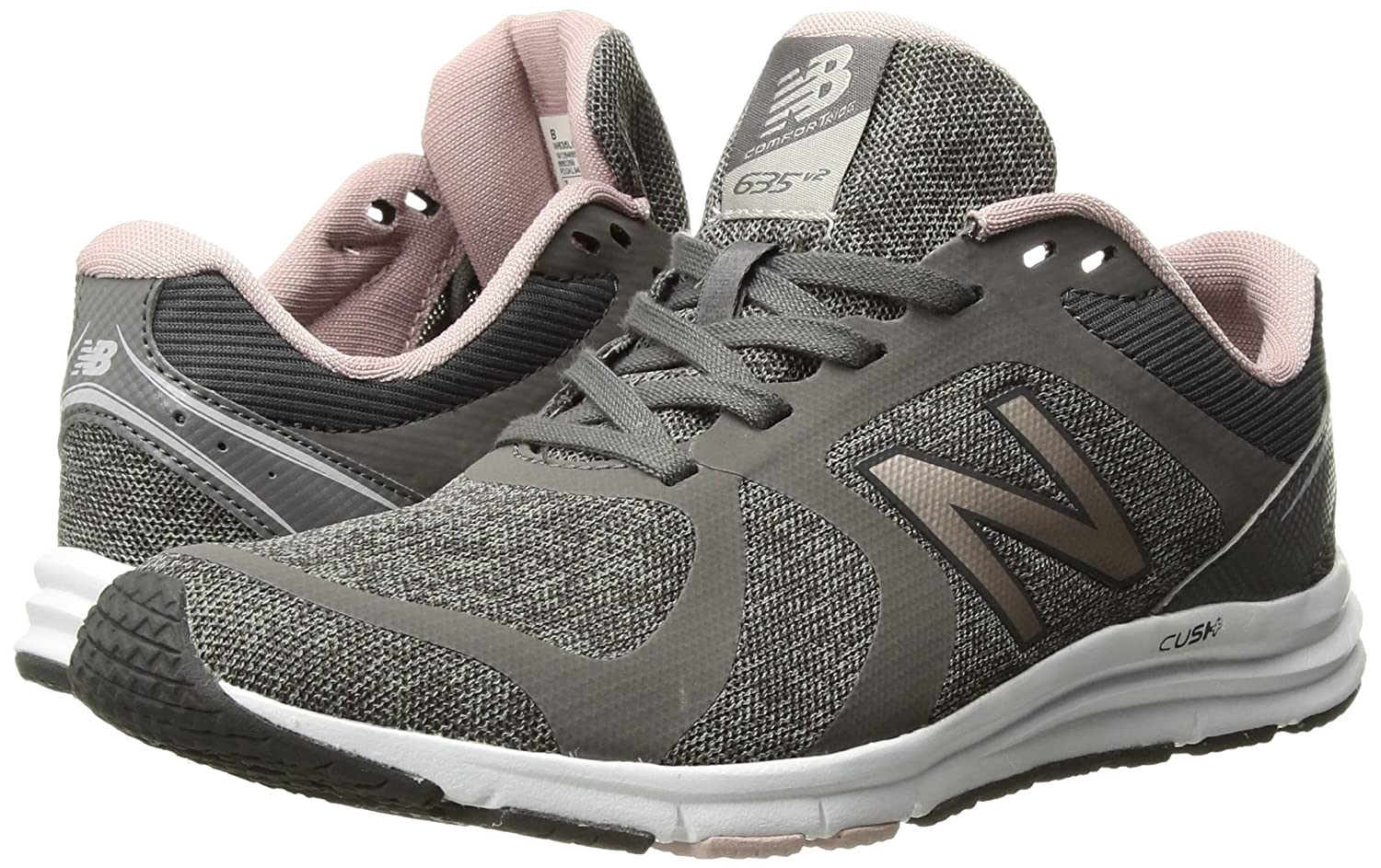 New Balance Women's 635v2 Cushioning US|Grey B01N7LX40A 9.5 D US|Grey Cushioning 2231e6