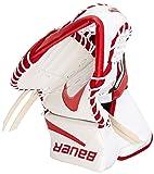 Bauer Junior 5000 Catch Glove, White/Red, Full