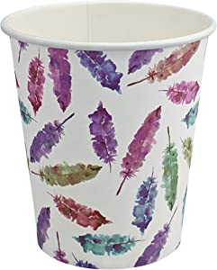 5 oz Biodegradable and Compostable Paper Cups, 200 count, Eco-friendly PLA-Lined Disposable, for Hot and Cold Drinks