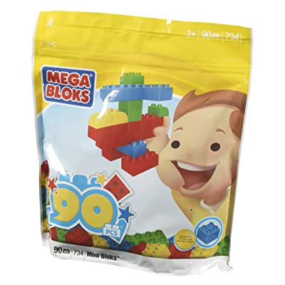 90-Piece Mega Blocks Bag: Toys & Games
