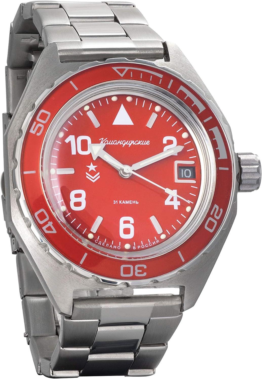 Vostok Komandirskie 650841 Reloj de pulsera para hombre (200 m)