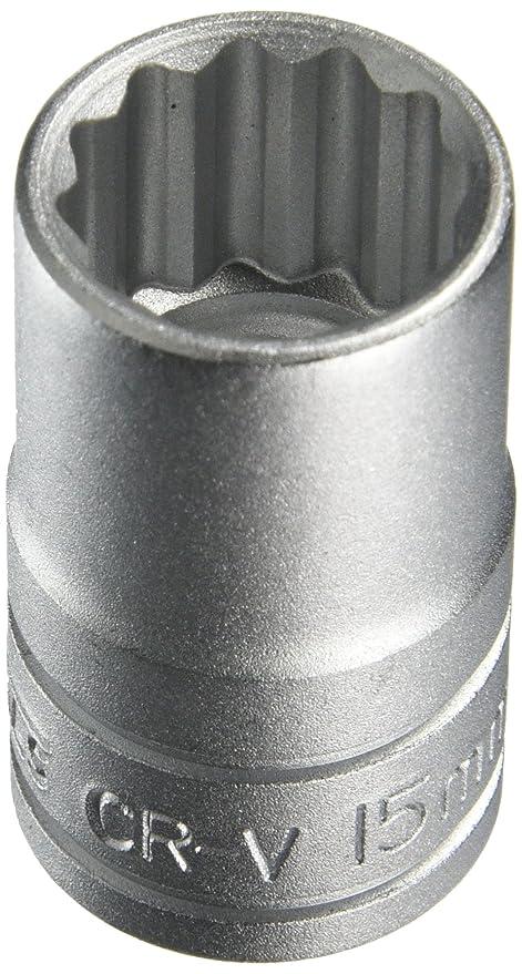 Teng Bi-Hexagon Socket 12 Point 1//2in Drive 15mm