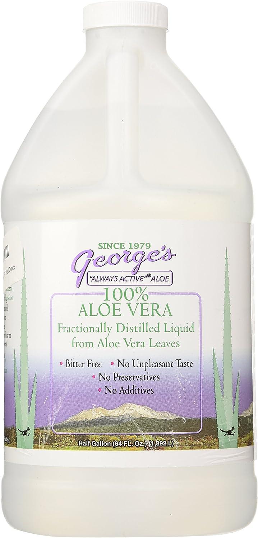 George's Aloe Vera Supplement, 64 Fluid Ounce: Health & Personal Care