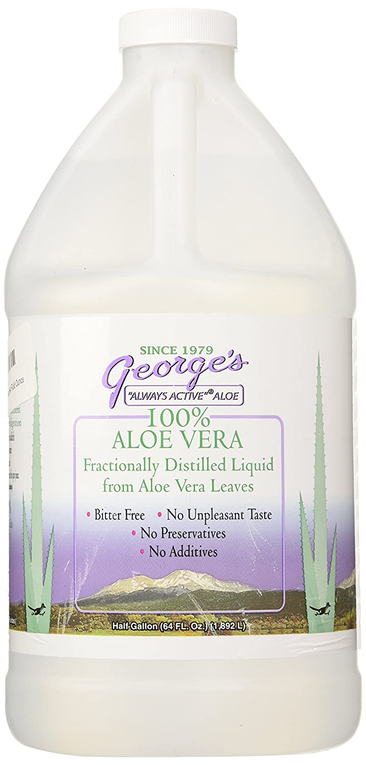 George's Aloe Vera Supplement, 64 Fluid Ounce