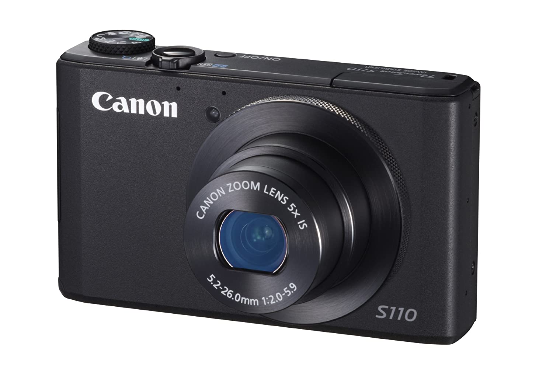Canon PowerShot S110 - Cámara digital compacta de 12.1 Mp (pantalla ...