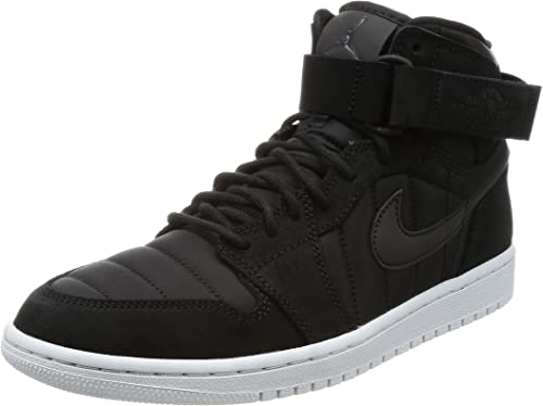 Amazon Com Jordan Men S Air 1 High Strap Basketball Shoe