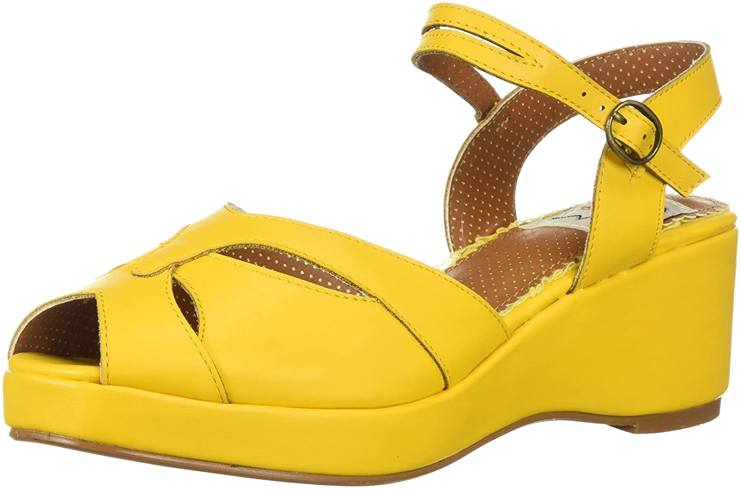 info for 98d96 4f795 Amazon.com   Bettie Page Women s Bp242-niley Wedge Sandal   Platforms    Wedges