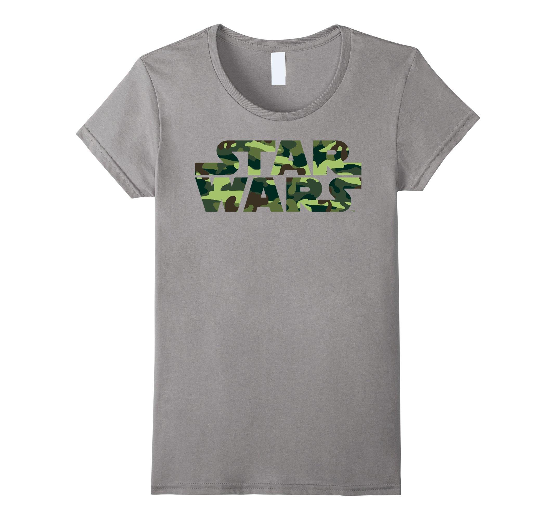Star Wars Camo Logo Graphic T Shirt