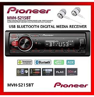 Pioneer mvh-ms510bt marine mp3-radio del coche Bluetooth USB iPod Aux-in