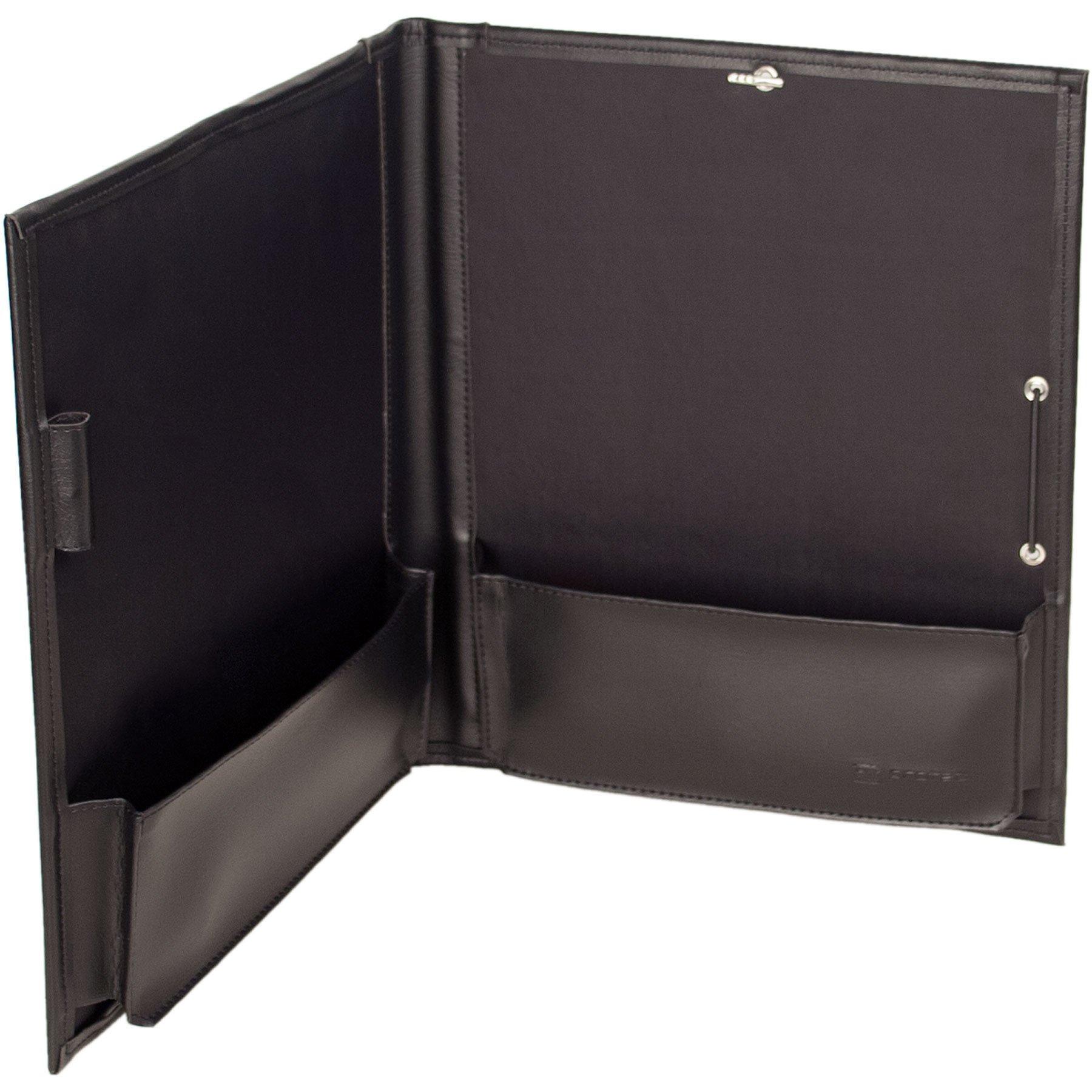 Protec Standard Sheet Music Folder with Elastic Band Closure, Model F2E