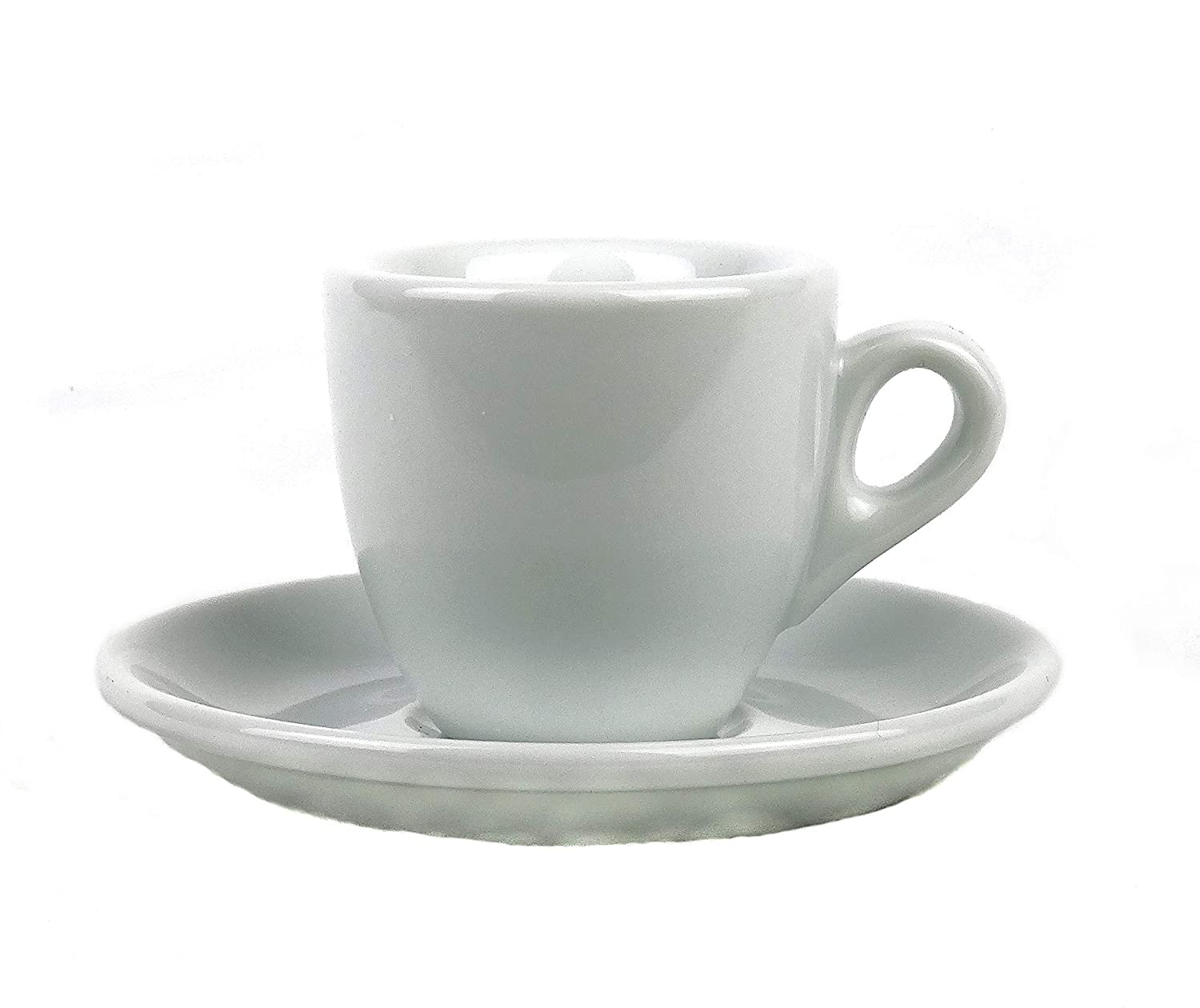 Extra Thick-walled Espresso Cup (1 Cup)/(6 Cups & Saucers) Moka Consorten