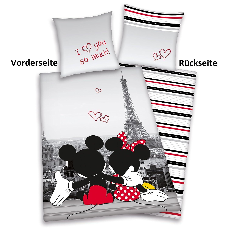 lenzuola matrimoniali con topolino e minnie