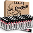 Energizer AAA Batteries (48 Count), Triple A Max Alkaline Battery