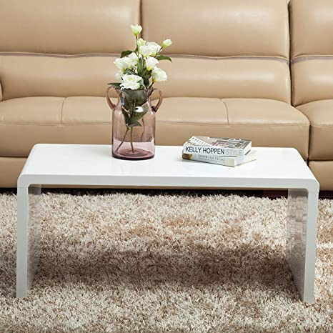 Brilliant Mecor Coffee Table Nest Of Tables White High Gloss Wood Side Table End Table 1 Big Coffee Table Onthecornerstone Fun Painted Chair Ideas Images Onthecornerstoneorg