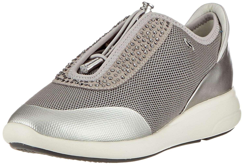 Geox D Ophira B, Zapatillas para Mujer, Plateado (Lt Grey/Silver), 37 EU