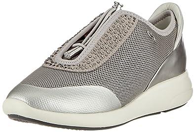 Geox D Gendry B, Sneakers Basses Femme, Noir (Black), 39 EU
