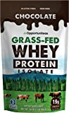 Chocolate Protein Powder - Premium Ingredients - No Artificial Chemicals or Flavorings - Grass Fed Whey Isolate + Rich…