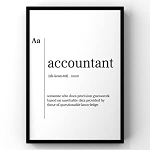 Funny Accountant Definition Print,Accounting Graduation Gift, Accountant Office Decor, Accountant,Accountant Gift,Senior Accountant Gift,New Job Gift,Accountant Print,Accountant Definition Poster