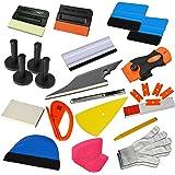 Ehdis New Upgrade Vinyl Wrap Tools Set Kits Car Window Tint Applicateur de film pour l'emballage automobile Decals DIY Intérieur
