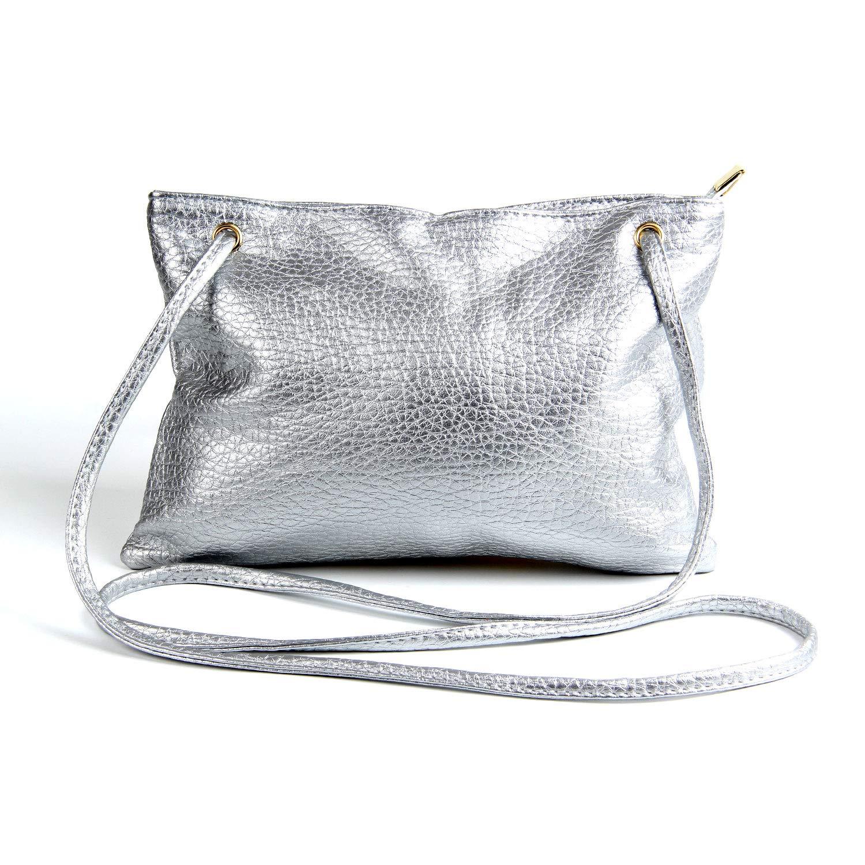 e88c95aad193 Girls PU Laser Money Bag Animal Cartoon Purse Handbags Crossbody Messenger  Shoulder Purse