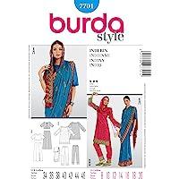 Burda Patrón 7701 Histórica India