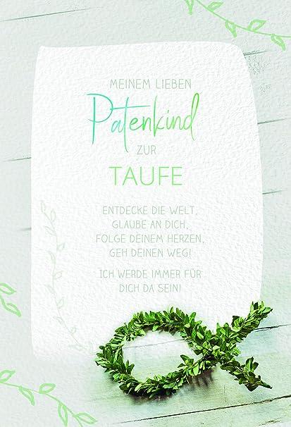 Karte Patenkind Zur Taufe Taufkarte Junge Taufkarte Mädchen Glückwunschkarte Taufe Karte Mit Umschlag Motiv Fisch