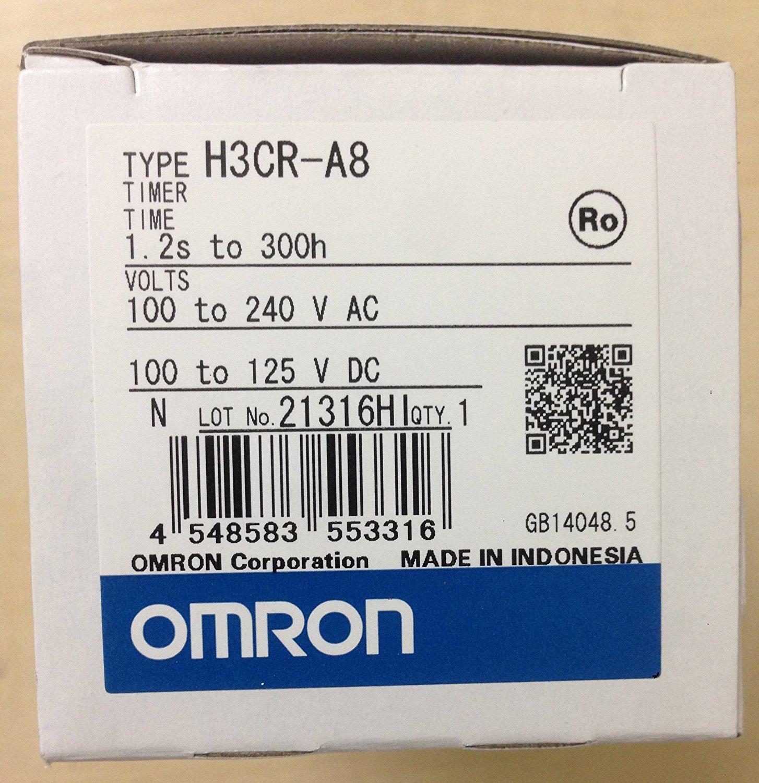 12-48 V DC 24-48 V AC 1.2 S-300 H OMRON H3CR-A TIMER RELAY