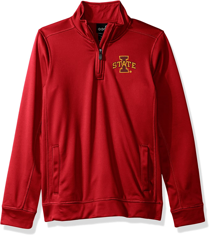 NCAA by Outerstuff NCAA teen-boys NCAA by Outerstuff NCAA Youth Boys Trainer 1//4 Zip Jacket