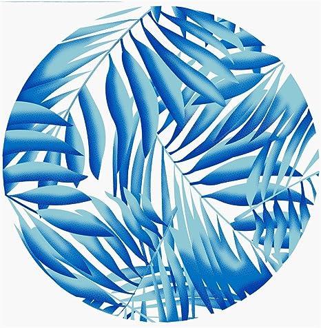 BAJIAN-LI Toalla de Playa Circular Ultra Delgada 150 × 150 cm B