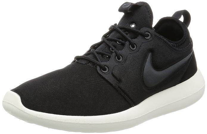Nike Roshe Two Two Sneakers Herren Schwarz mit schwarzem Streifen