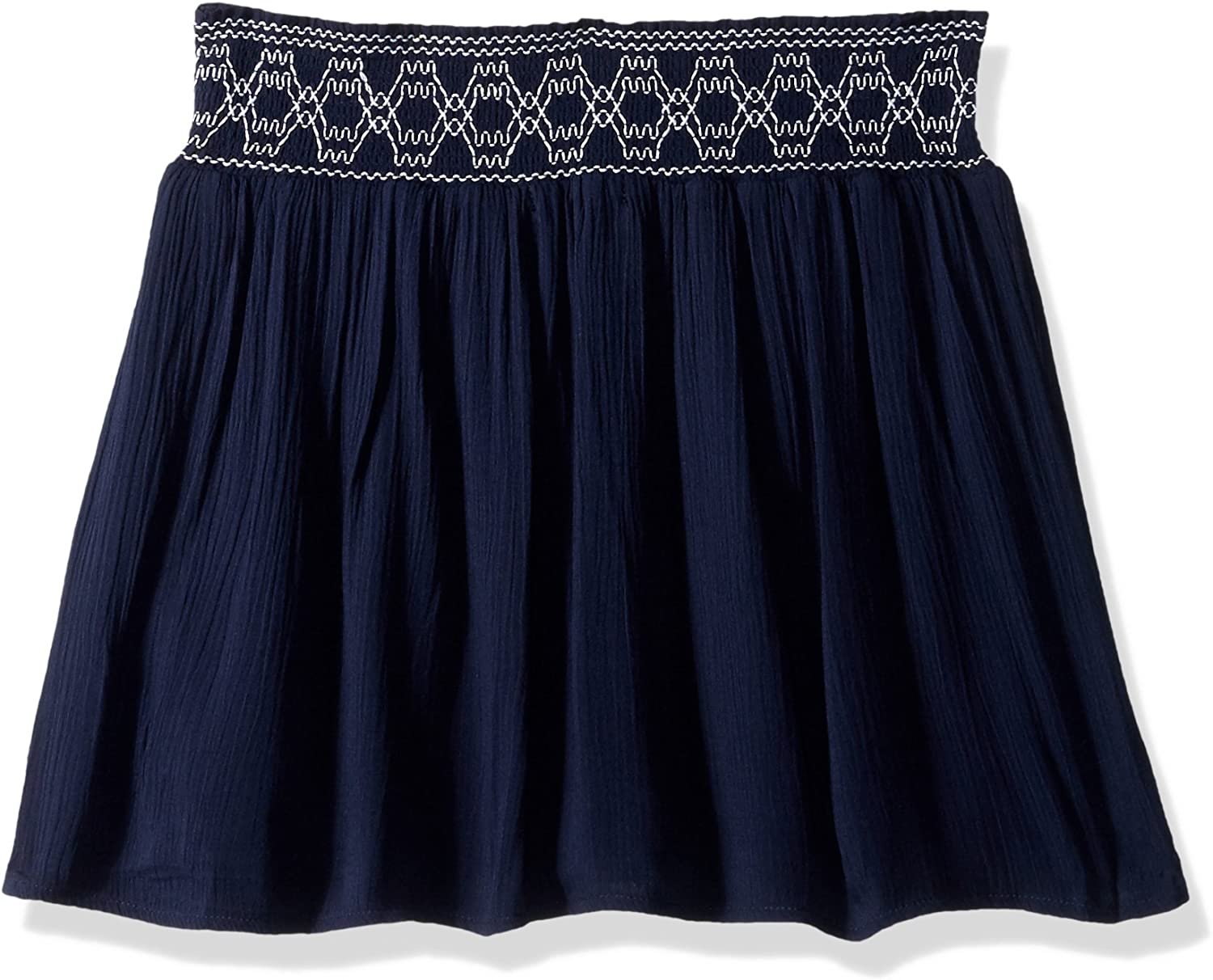 My Michelle Girls Big Soft Shorts with Elastic Waist and Embroidery