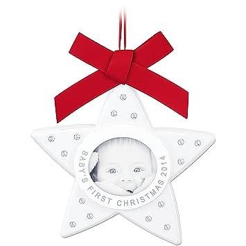 Swarovski Babys First Christmas Ornament Limited Edition 2014