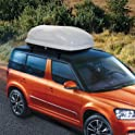 Aosom 7Cu.Ft Cargo Box Car Roof Top Carrier